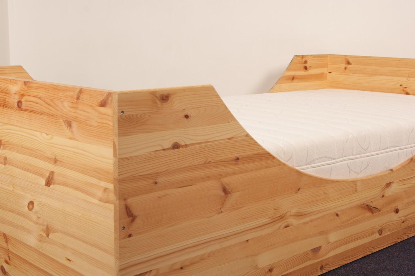 1 persoons bedden 1 persoonsbed janneman blankhouten meubels - Exotisch onder wastafel houten meubilair ...