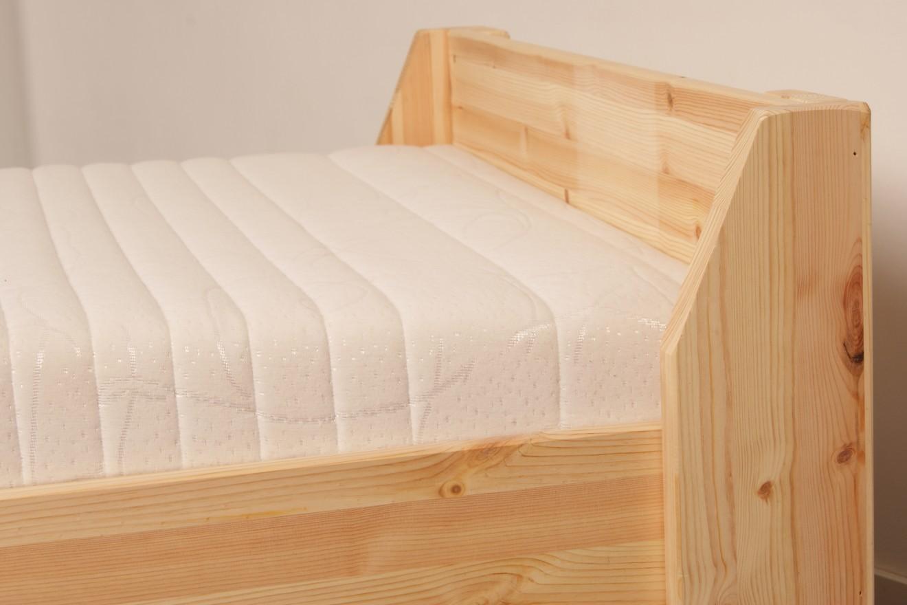 1 persoonsbed met lades 1 persoonsbed boris met laden blankhouten meubels - Exotisch onder wastafel houten meubilair ...