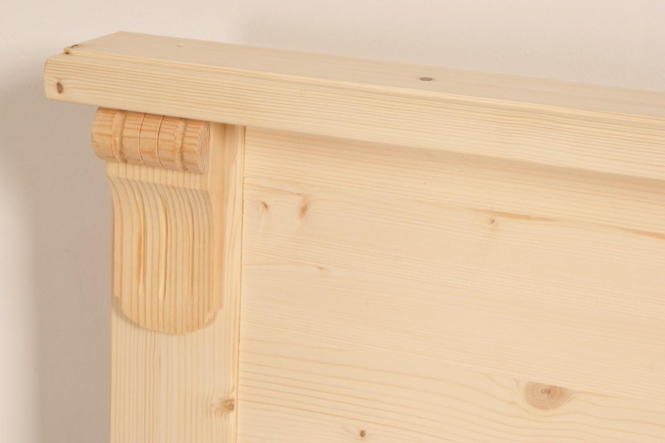 1 persoonsbed met lades 1 persoonsbed flora met laden blankhouten meubels - Exotisch onder wastafel houten meubilair ...