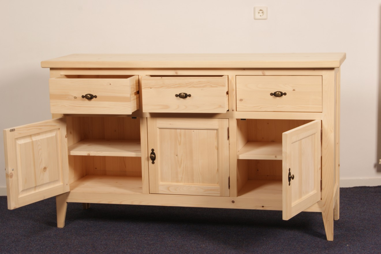 Dressoirs dressoir breda blankhouten meubels for Meubels breda