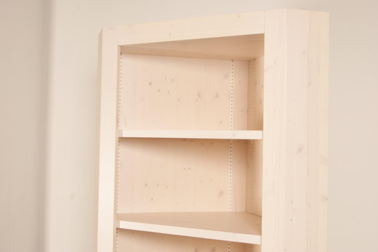 Boekenkasten - Hoekkast op maat - Blankhouten Meubels