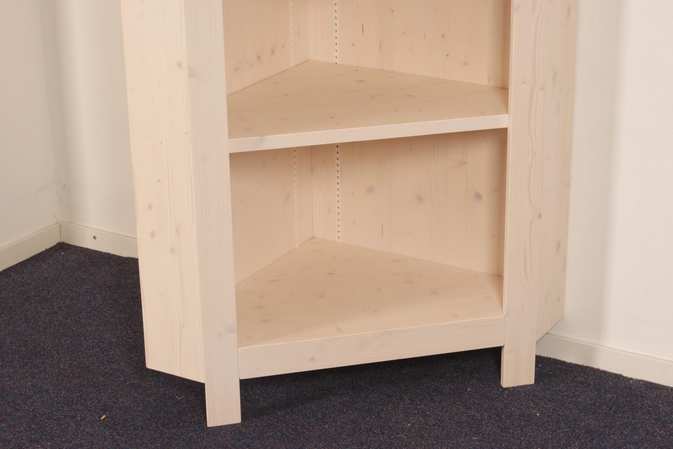 Boekenkasten   Hoekkast op maat   Blankhouten Meubels