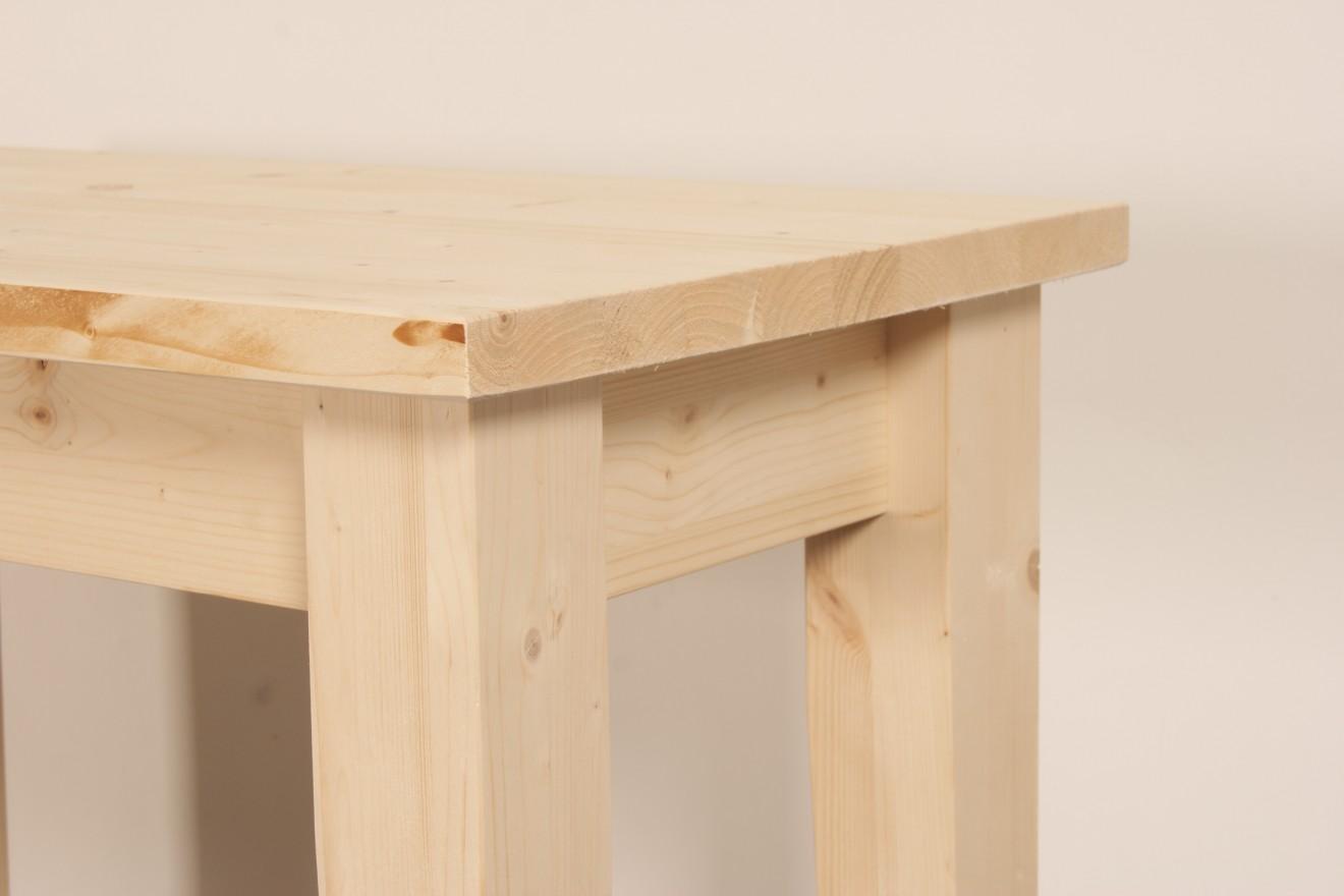 Side Table Blank Hout.Tafels Sidetables Houten Sidetable Carlo