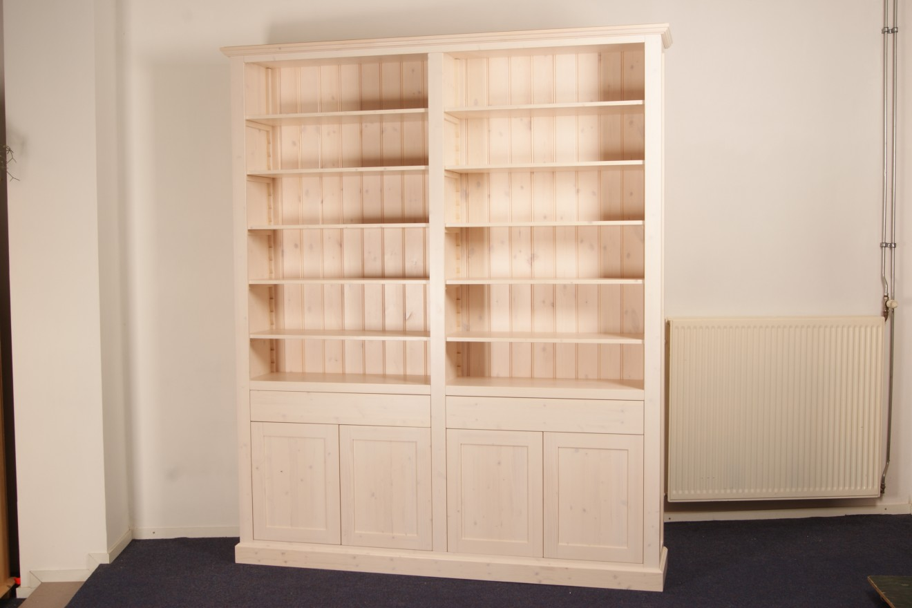 Boekenkasten boekenkast barbara blankhouten meubels