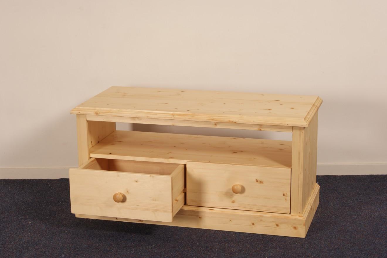 Tv meubels tv meubel panningen blankhouten meubels for Houten meubels