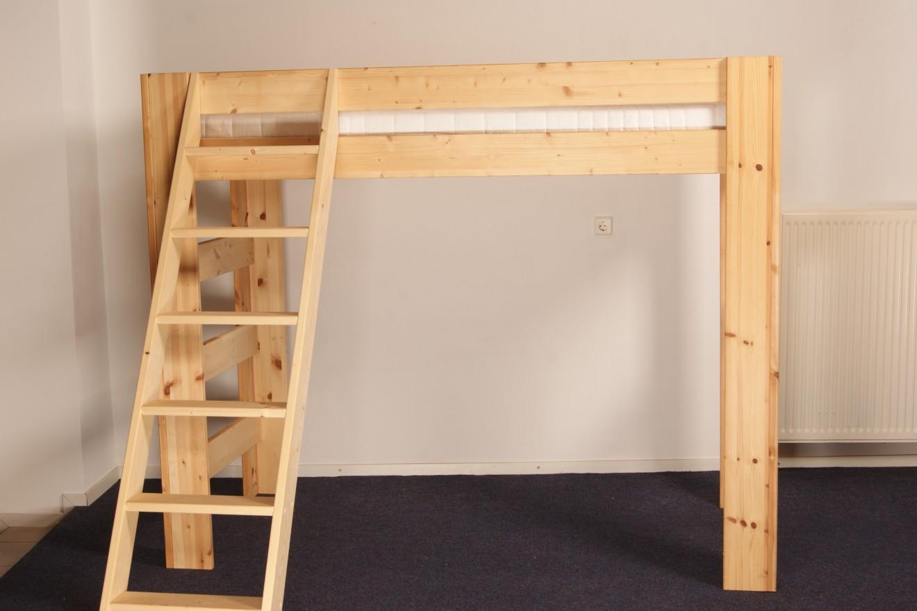 Hoogslapers persoons hoogslaper blankhouten meubels