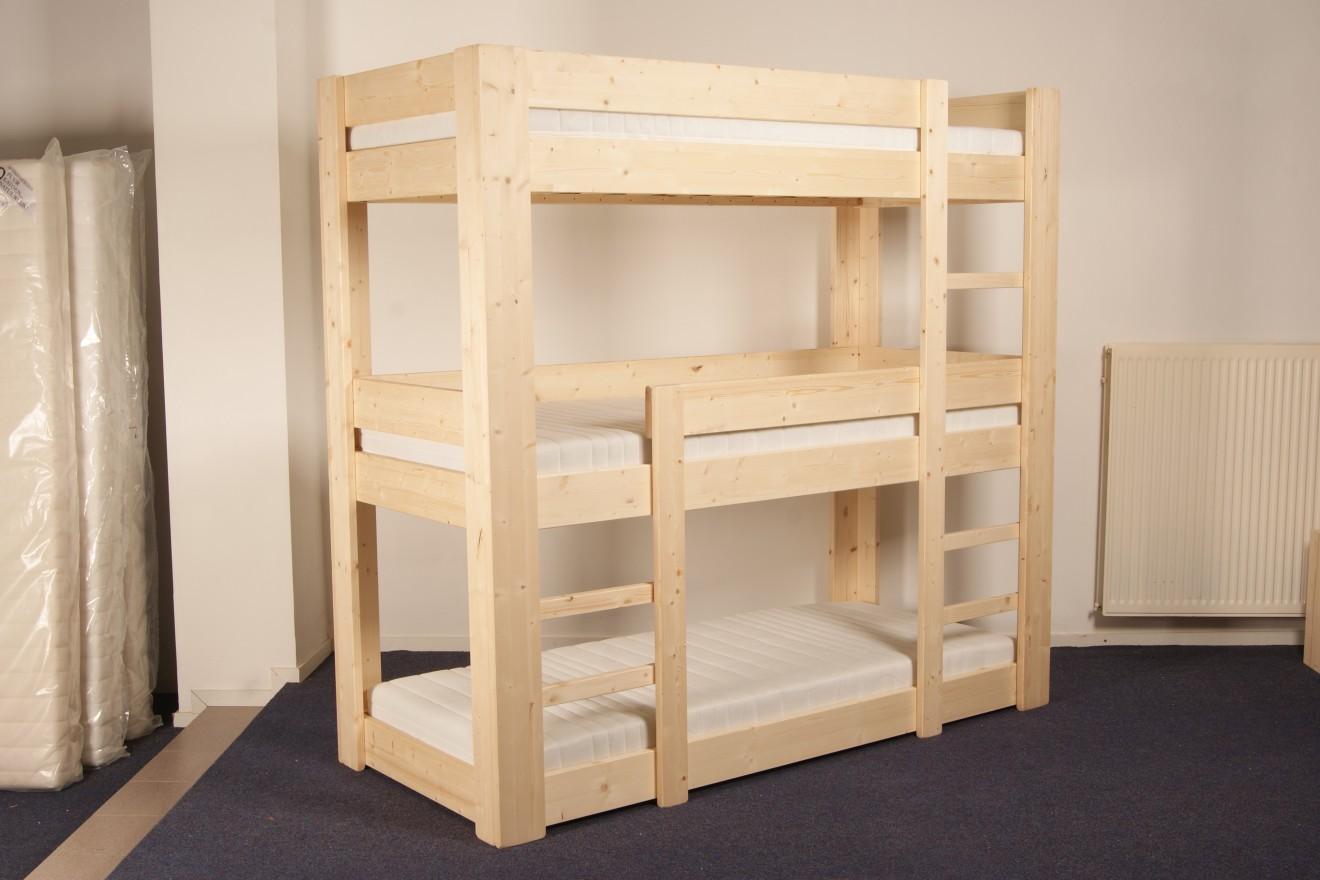 Stapelbed Met Dubbel Bed.6 Persoons Bedden 6 Persoons Stapelbed Harry Blankhouten Meubels