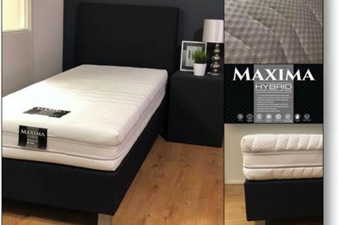 Matrassen maxima hybrid blankhouten meubels