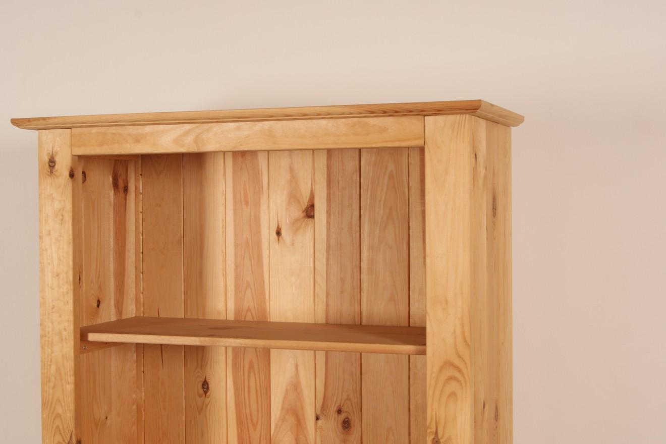 Boekenkasten boekenkast starko 81 t m 120cm breed blankhouten