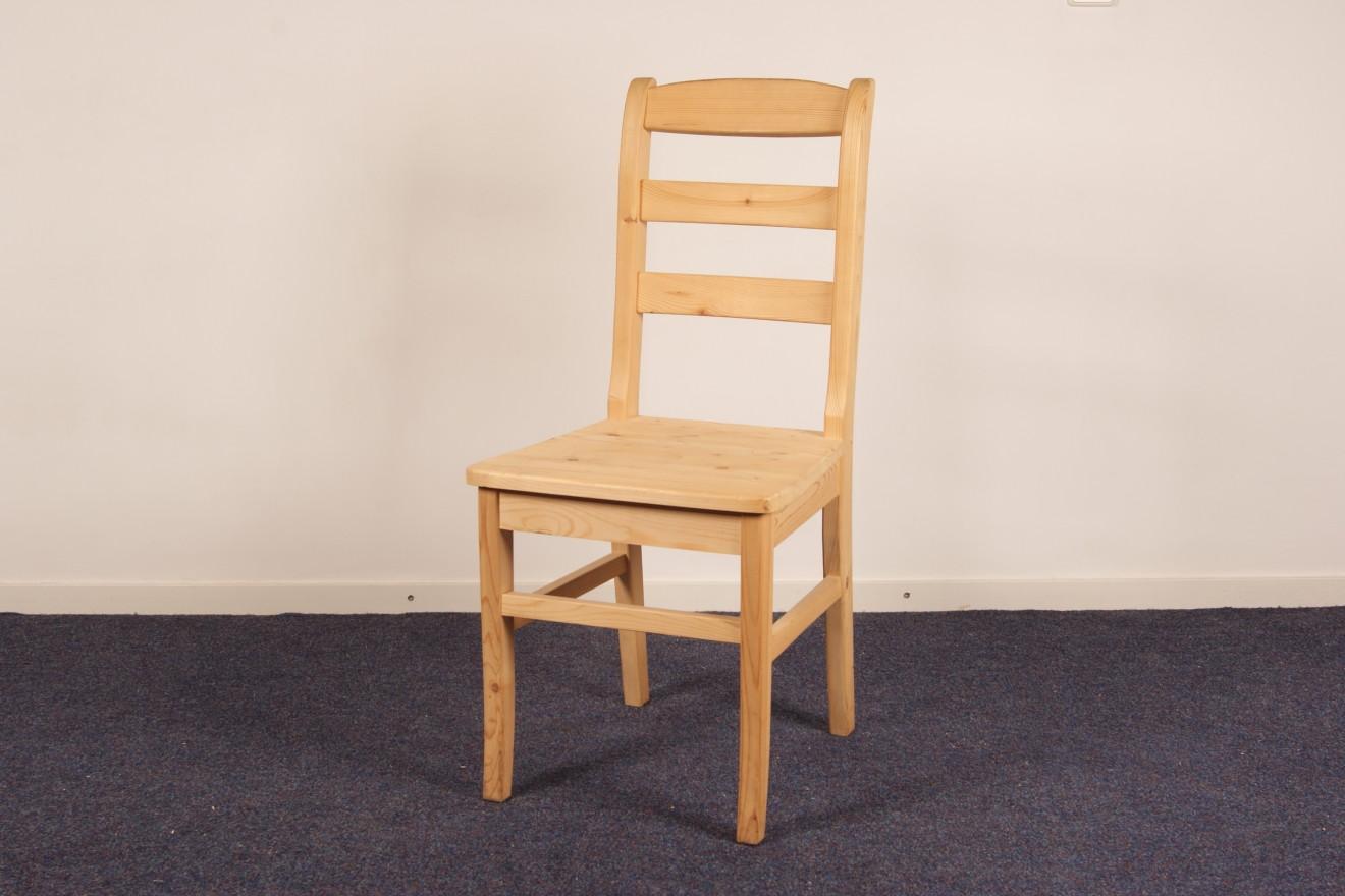 Houten stoelen blankhouten meubels - Smeedijzeren stoel en houten ...
