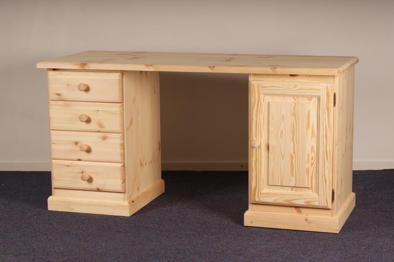 dubbel kastje bureaus blankhouten meubels