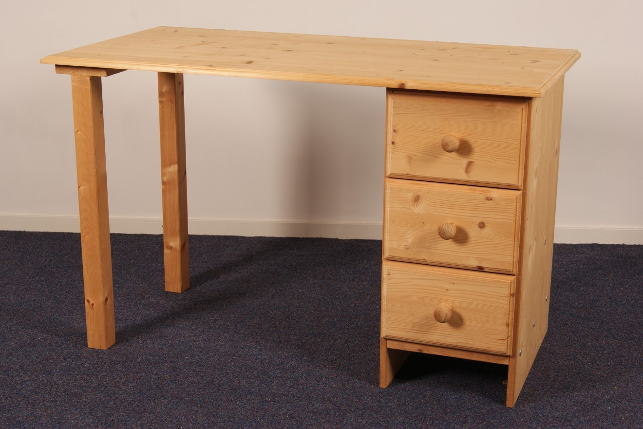 Enkel kastje kees lablok smal blankhouten meubels for Grenen ladeblok