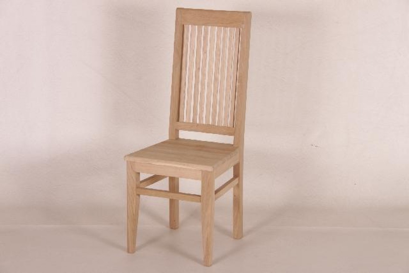 Eetkamerstoelen stoel laren blankhouten meubels