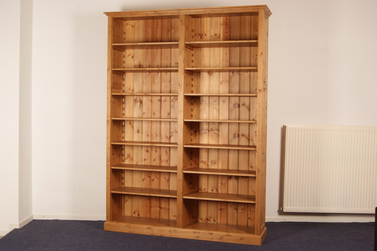 Boekenkasten   Boekenkast Korfage   Blankhouten Meubels