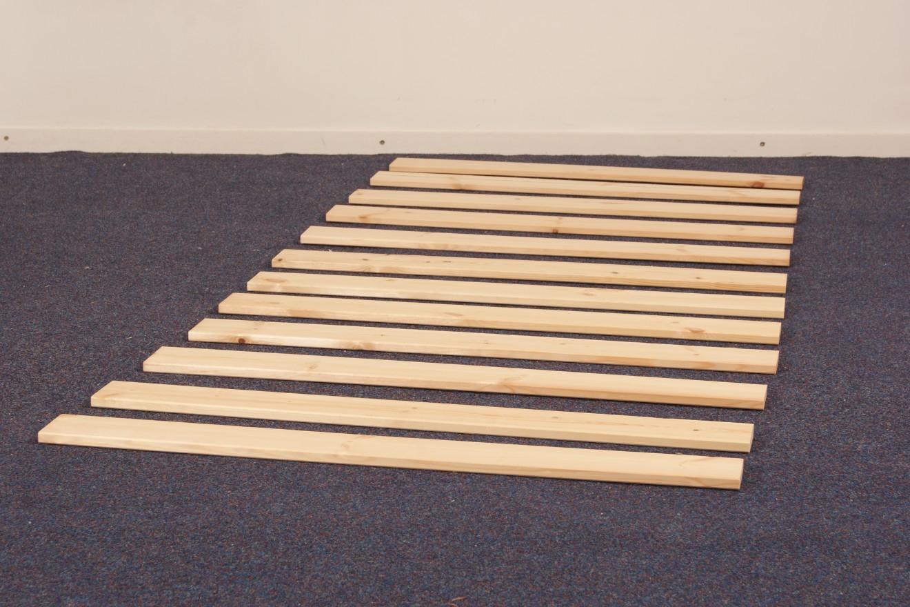 Lattenbodems bedden blankhouten meubels - Balances hoogslaper ...
