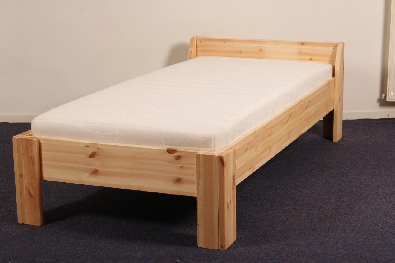 1 persoons bedden boris 1 persoons bed blankhouten meubels for 1 bed