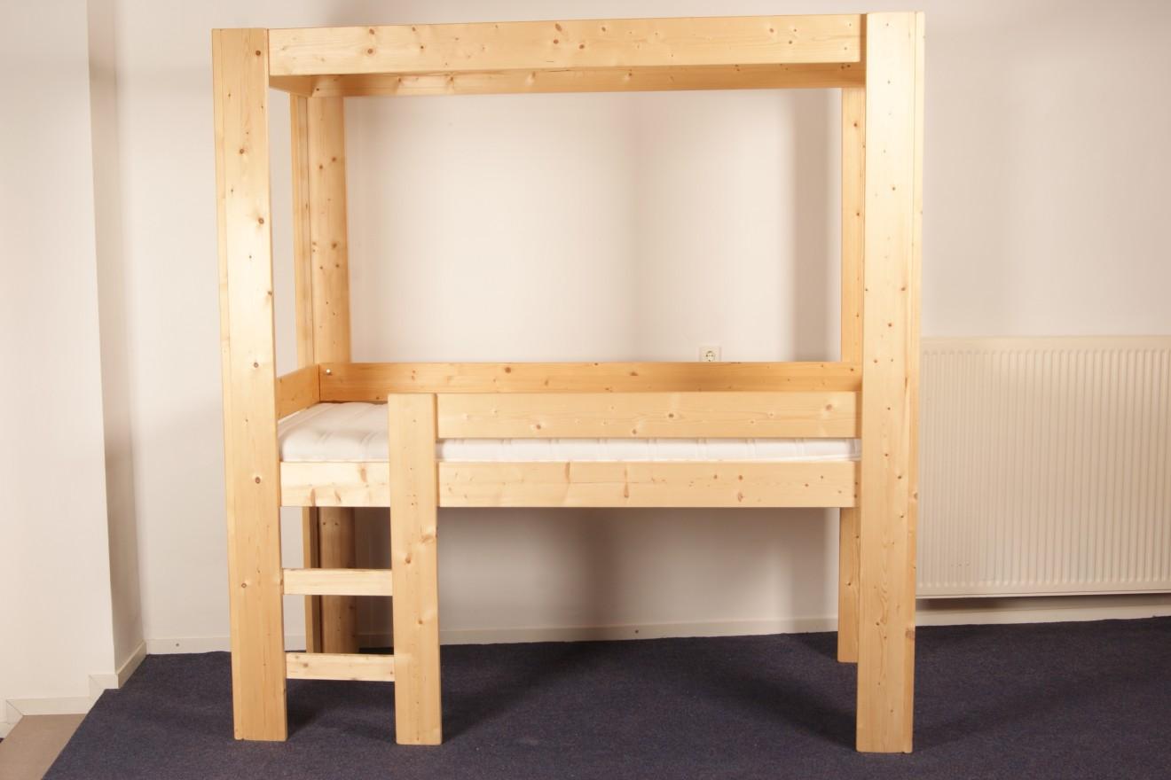 Hoogslapers bedden blankhouten meubels - Kast kind grenen ...