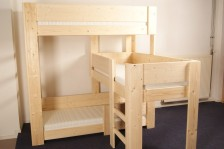 3-Persoonsbed Stapelbed Silvie